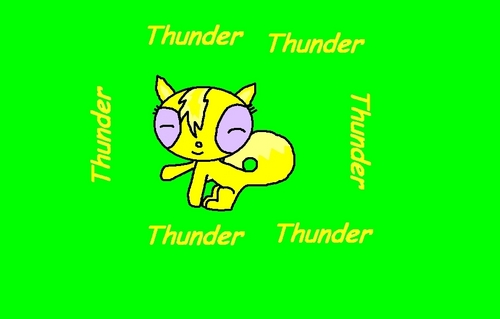 Powerpuff and rowdyruff animals wallpaper entitled Thunder,the oog cat! BL it's for ya!