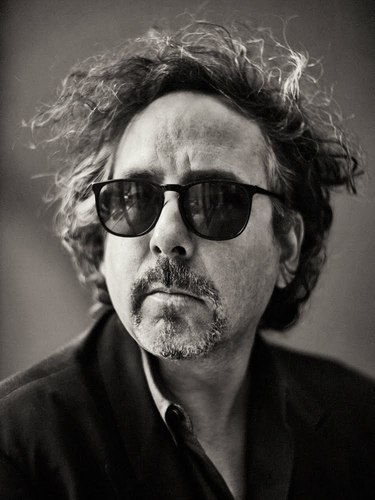 Tim burton Photographed door Sebastian Kim for Interview Magazine