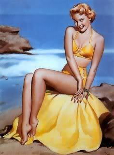 pin up girl wallpaper entitled Vintage Pin Up Girls !