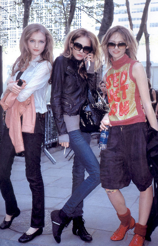 Vlada Roslyakova, Snejana Onopka and Sasha Pivovarova - models Photo