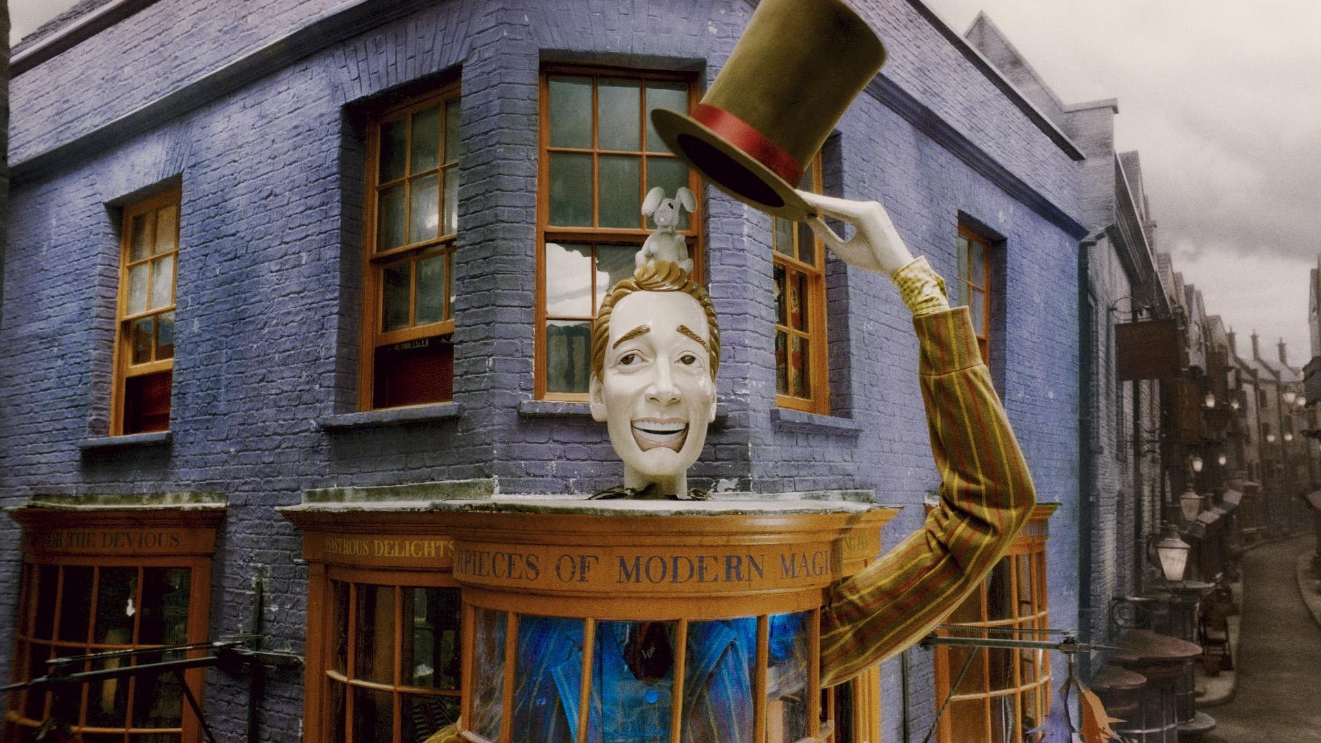 weasleys wizard wheezes harry potter wallpaper