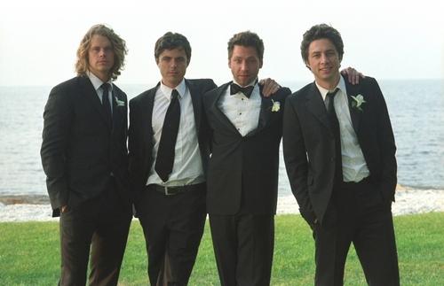Weston, Olsen, Affleck & Braff in The Last 吻乐队(Kiss)