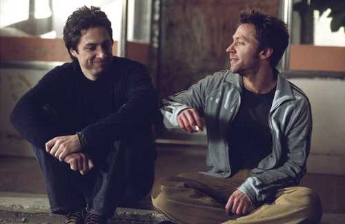 Zach Braff & Michael in The Last ciuman