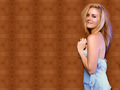 babe in blue - alicia-silverstone wallpaper