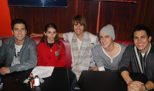big time rush and a fan