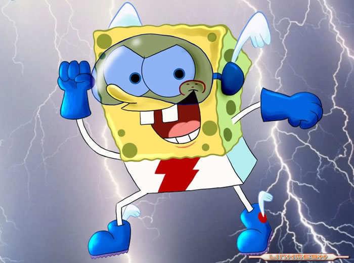 Sexy spongebob fan art