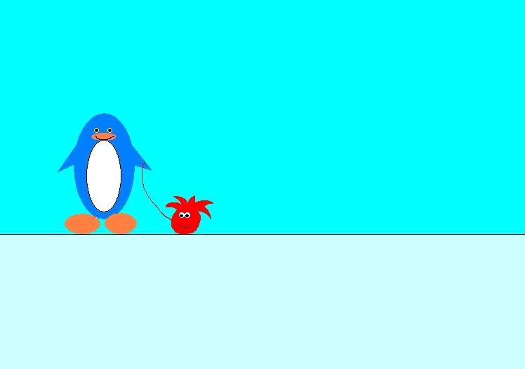 club pingüino, pingüino de fan art - Club pingüino, pingüino