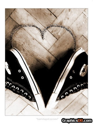 Converse shoes wallpaper called converse love