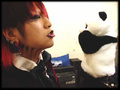 cutey ruki kiss his panda - the-gazette photo