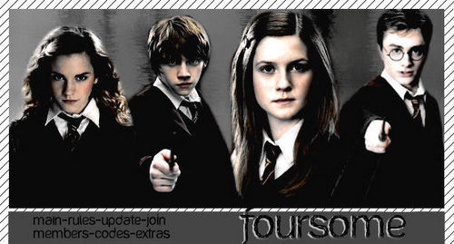 harry,ron,ginny,or hermione