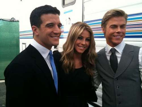 julianne and derek hough and mark ballas