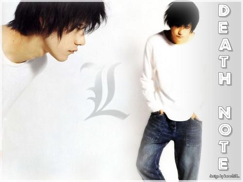 kenichi como L(デスノート)