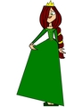 princess fiona from shrek in tdi form - total-drama-island fan art