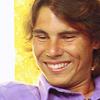 Rafael Nadal photo titled rafa lila