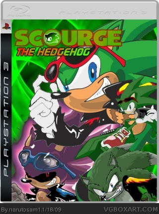 scrouge the hedgehog