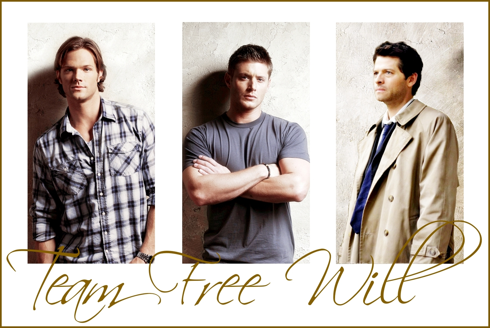 Team Free Will Supernatural Fan Art 10490901 Fanpop