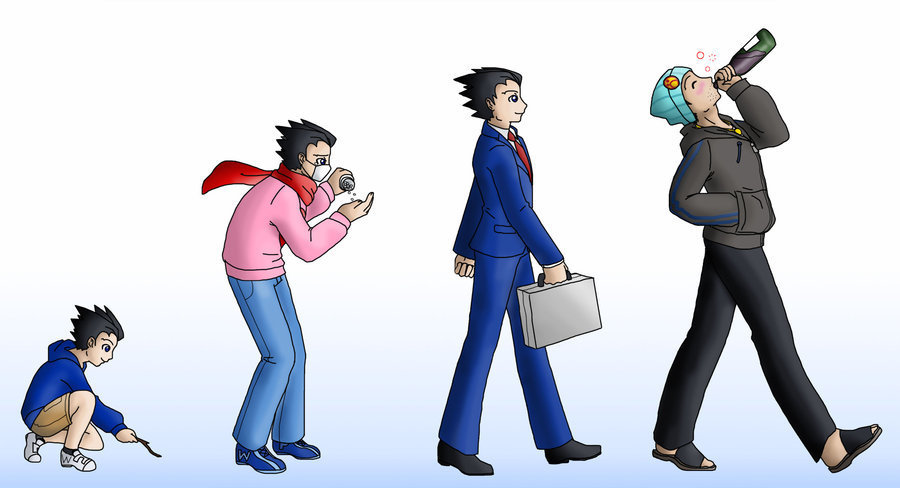 Phoenix Wright Images The Evolution Of HD Wallpaper And Background Photos