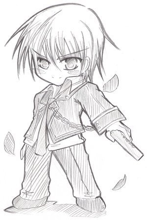 chibi wallpaper entitled vampire knight, zero