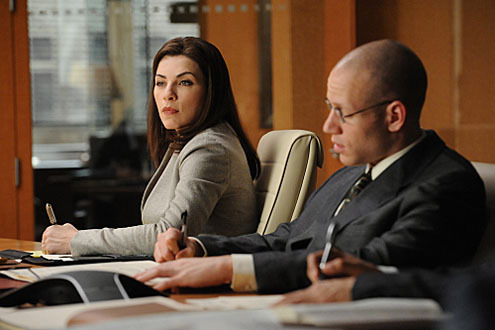 "The Good Wife wallpaper titled ""Bang"" promo stills"