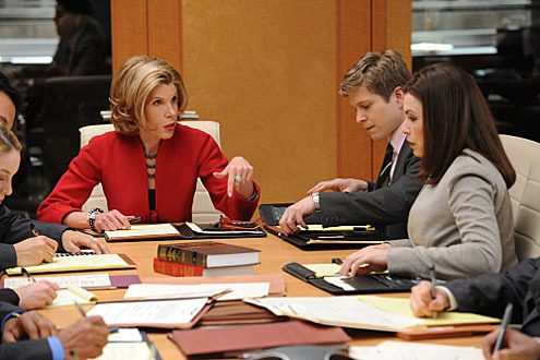 "The Good Wife wallpaper called ""Bang"" promo stills"
