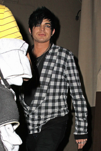 Adam Leaving The Bardot Lounge