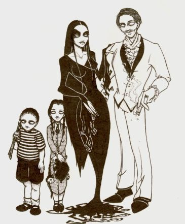 The Addams Family 1964 wallpaper titled Addams Family