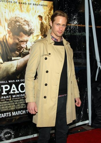 Alex at The Premiere of HBO's The Pacific