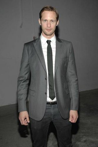 Alexander Skarsgard Attends the Calvin Klein After-Party