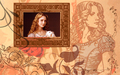 Alice Wallpaper - Sepia Hues - alice-in-wonderland-2010 wallpaper