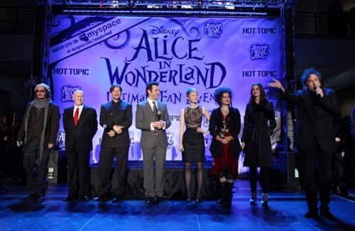 Alice in Wonderland event