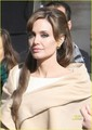 Angelina Jolie on the set of new movie