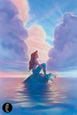 The Little Mermaid achtergrond titled Ariel