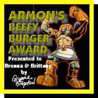 Armon's Beefy Burger Award