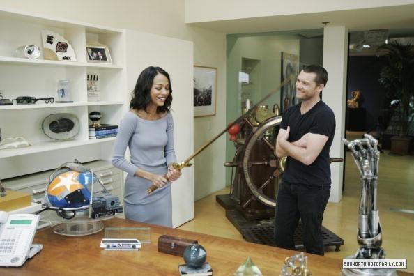Avatar Cast Taping of Oprah 02.20.10
