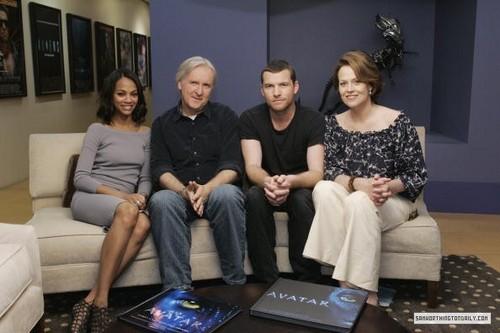아바타 Cast Taping of Oprah 02.20.10