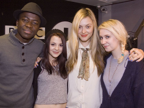 BBC interview with Fearne Cotton