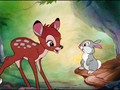 Bambi And Thumper - classic-disney wallpaper