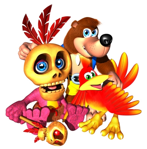 Banjo,Kazooie and Mumbo