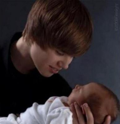 Bieber and baby x