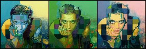Brian Molko portrait