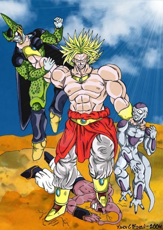 Dragon Ball Z Broly Coloring Pages With Dragon Ball - Dragon Ball ... | 740x523