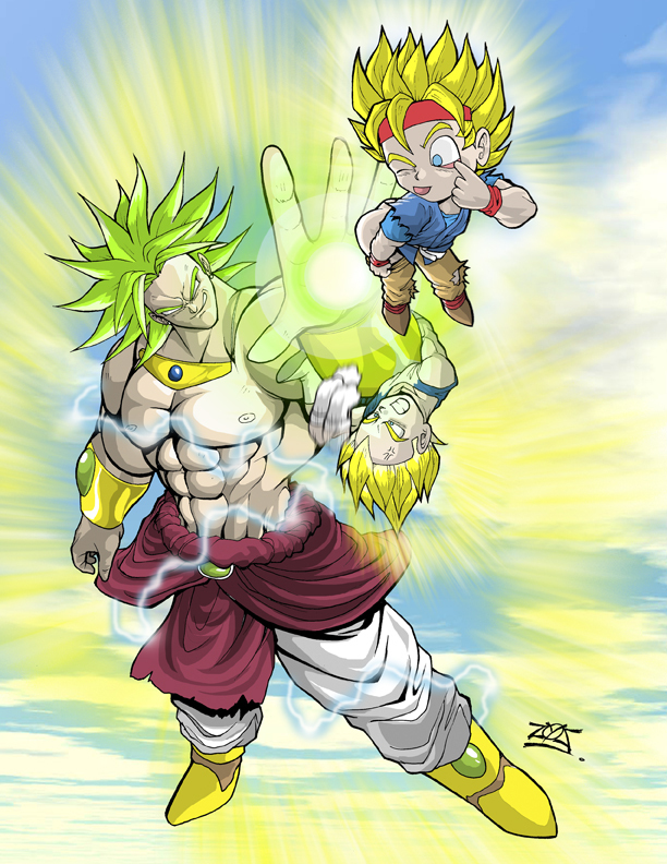 Broly The Legendary Super Saiyan images Broly! HD ...