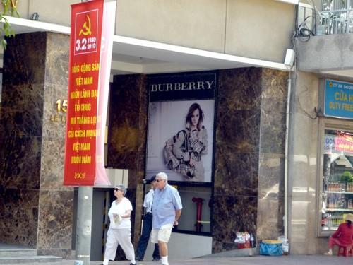 барберри, burberry store Vietnam