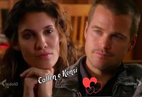 NCIS: Los Angeles wallpaper called Callen & Kensi