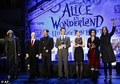 Cast of Tim Burton's 'Alice In Wonderland' @ the Фан Event in California