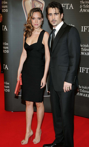 Colin Farrell and Alicja Bachleda at the 2010 Irish Film and টেলিভিশন Awards (Feb 20)