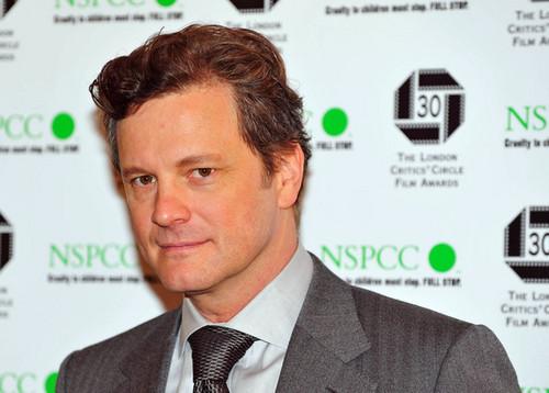 Colin Firth at Londres Critics' círculo Awards