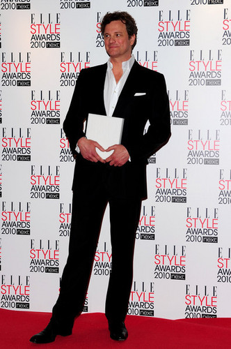 Colin Firth at the ELLE Style Awards