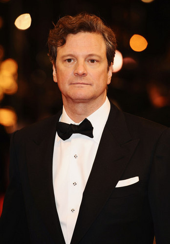 Colin Firth at the 橙子, 橙色 British Film Awards 2010