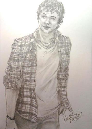 Damian McGinty sketch